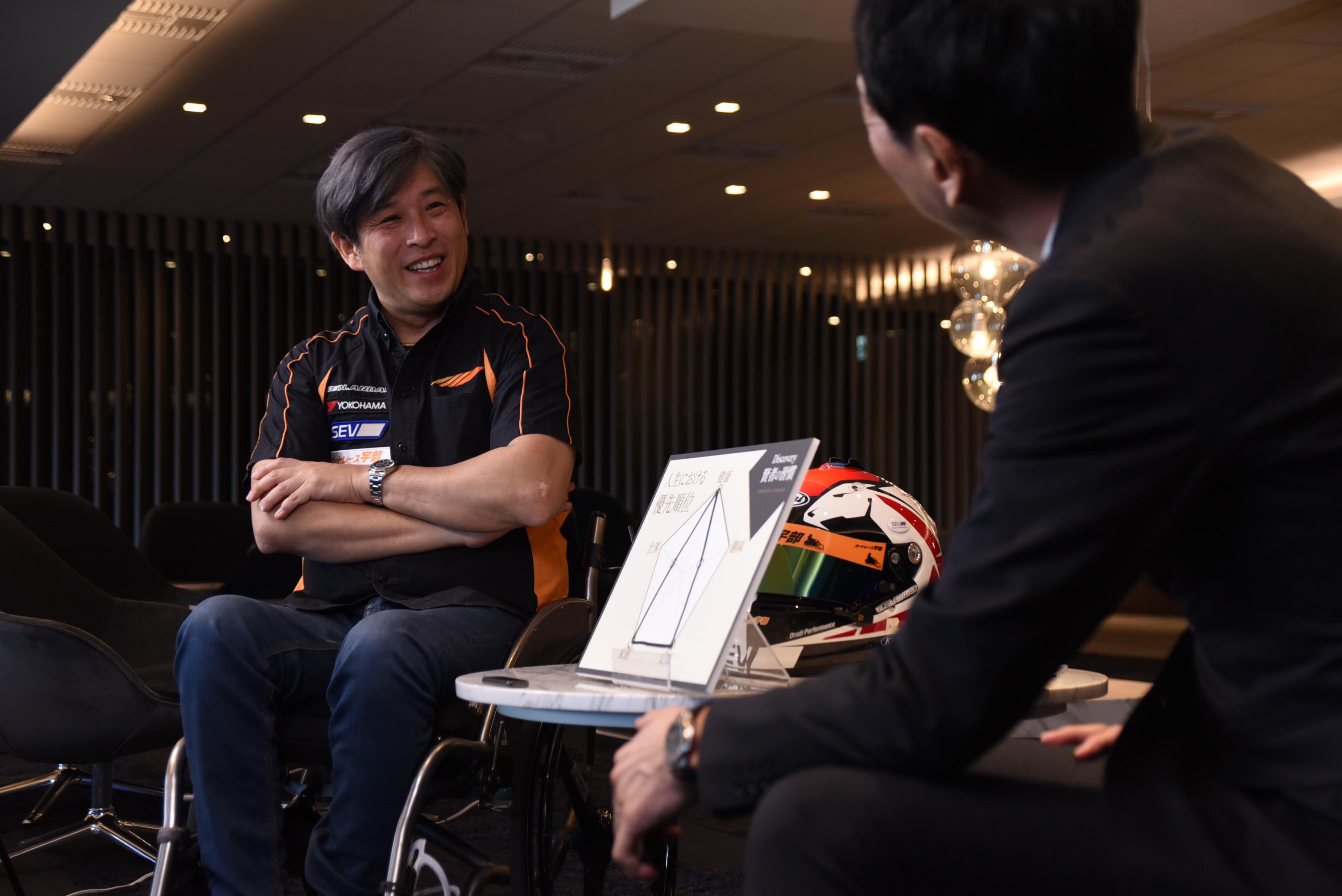 車椅子のプロレーサー。可能性もフルスロットルで。(ゲスト 青木拓磨氏:第3回) イメージ画像