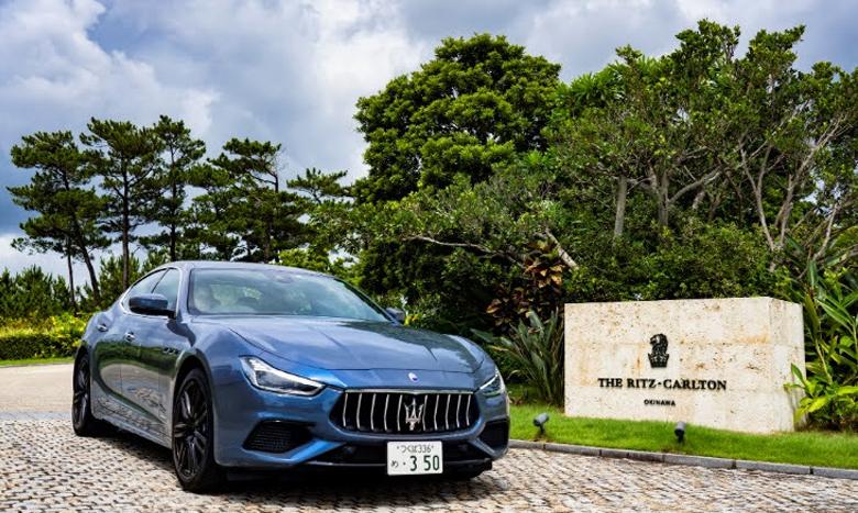 ザ・リッツ・カールトン沖縄とマセラティ ジャパンがコラボレーションしたスペシャル宿泊パッケージが販売中 イメージ画像