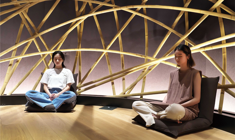東京・南青山のメディテーションスタジオ「Medicha」が2020年度グッドデザイン賞を受賞! 朝プランのスタートも イメージ画像