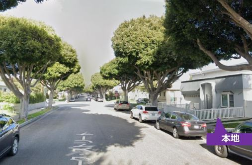 写真:Oak St, Santa Monica, CA4