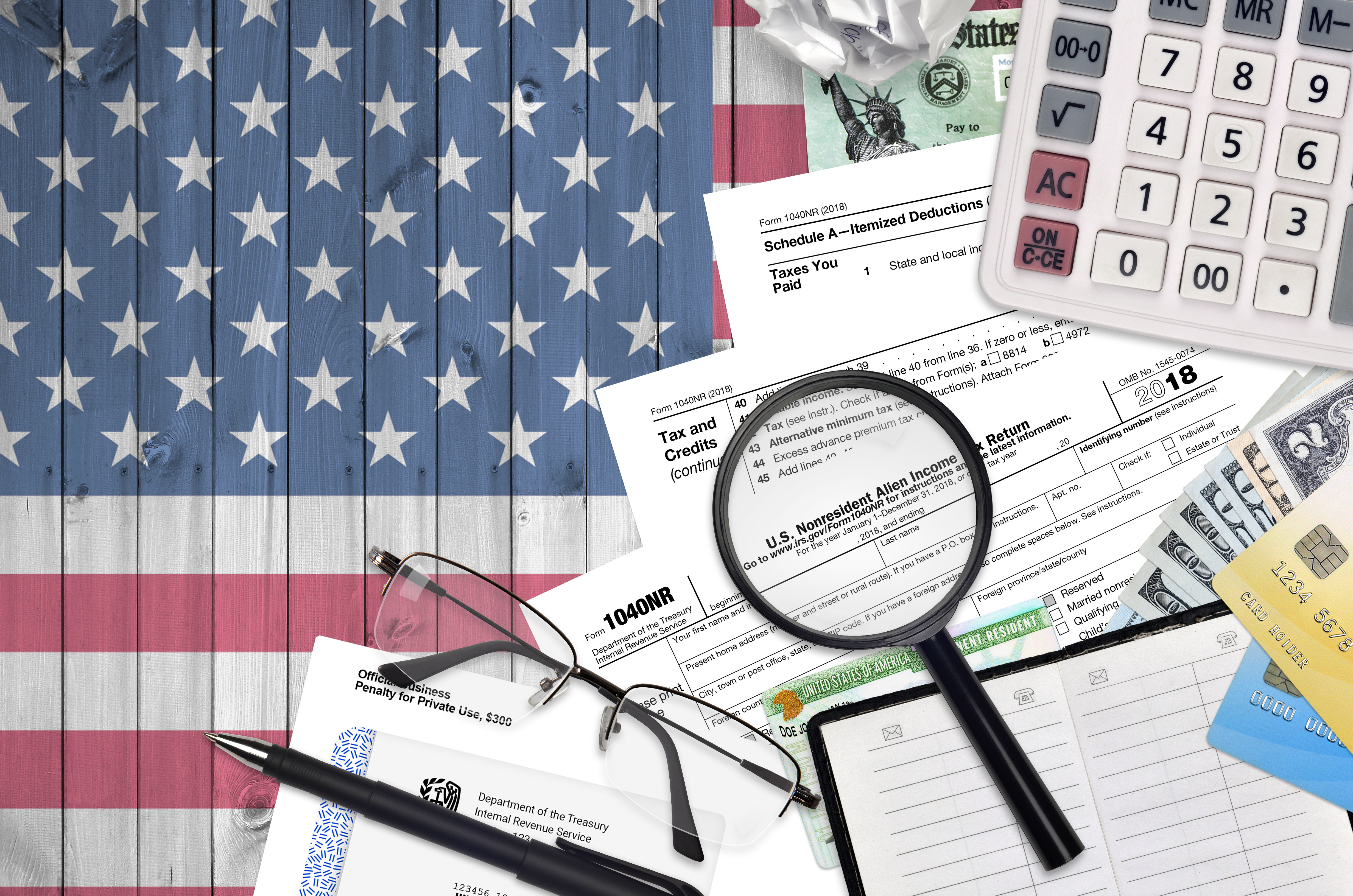 【アメリカ確定申告】知っておきたい基礎知識 「第6回:どの書類を用いて税務申告するのか(個人)」 イメージ画像