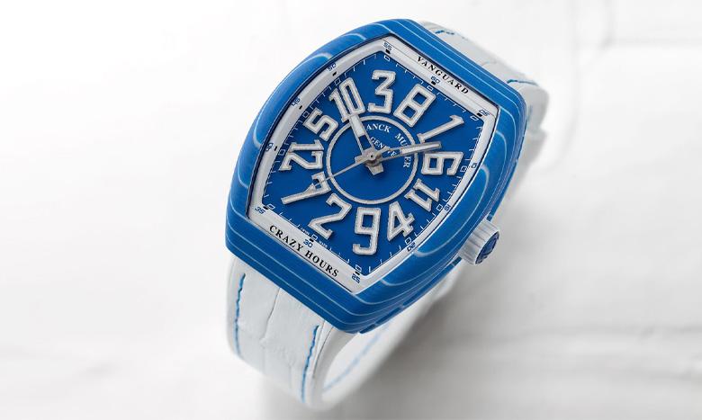 夏の手元を爽やかに彩る高級腕時計。フランク ミュラーの最新コレクションをご紹介 イメージ画像