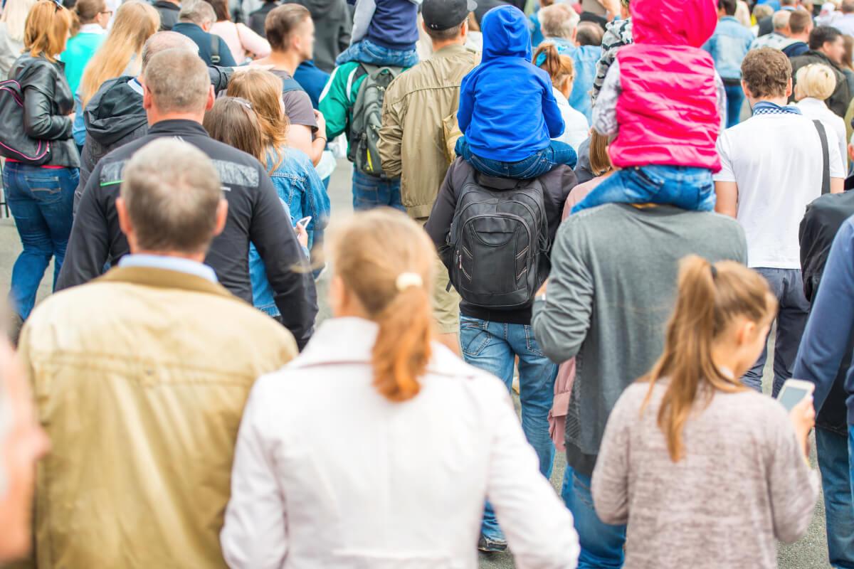全米平均を大きく上回る人口成長