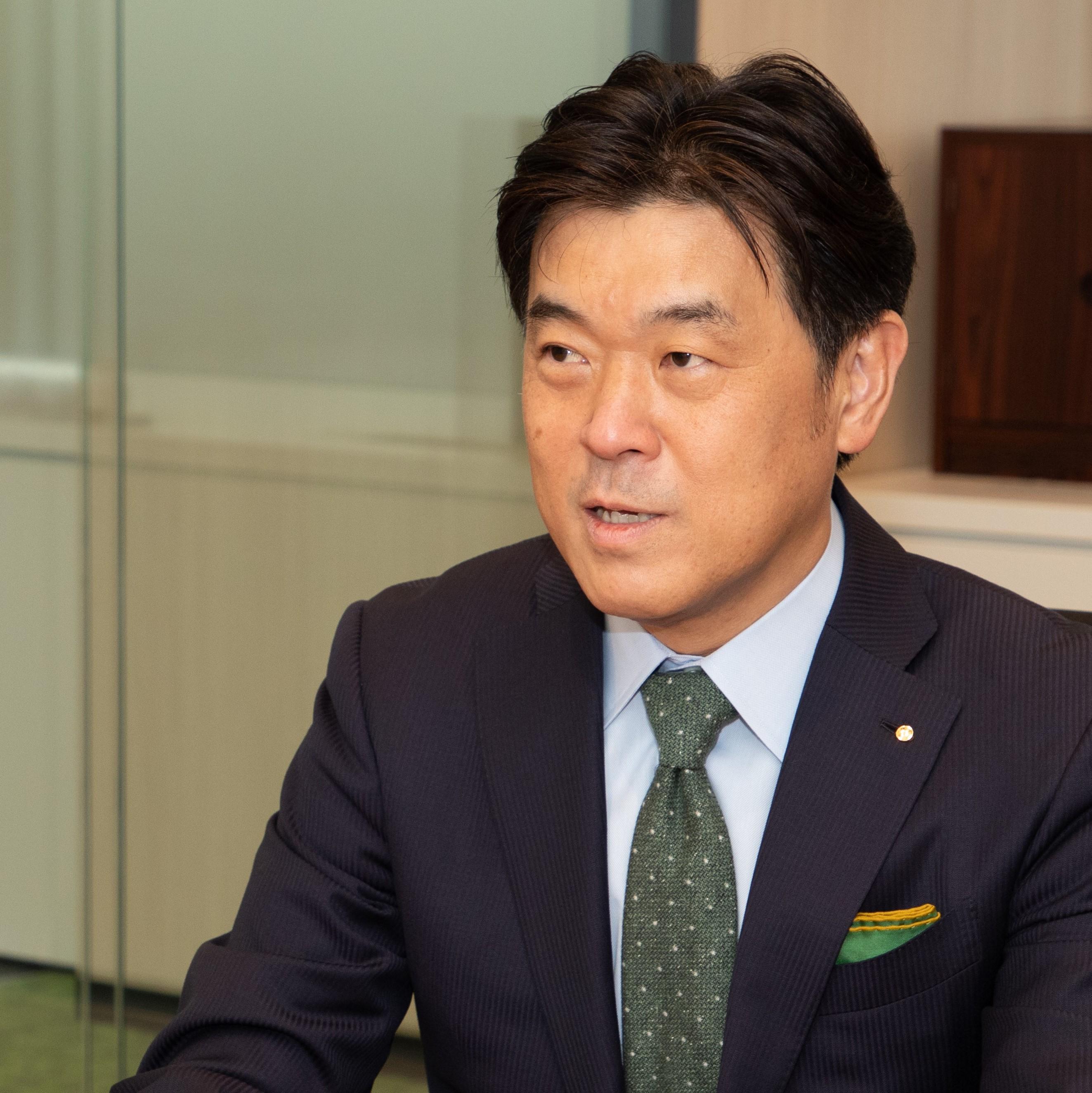 太陽ホールディングス株式会社 代表取締役社長 佐藤 英志 氏