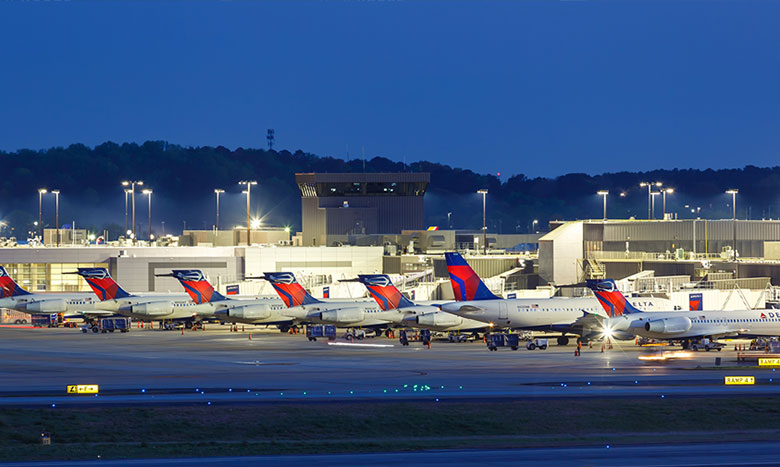アトランタの魅力その4 全米No.1の空の拠点 イメージ画像