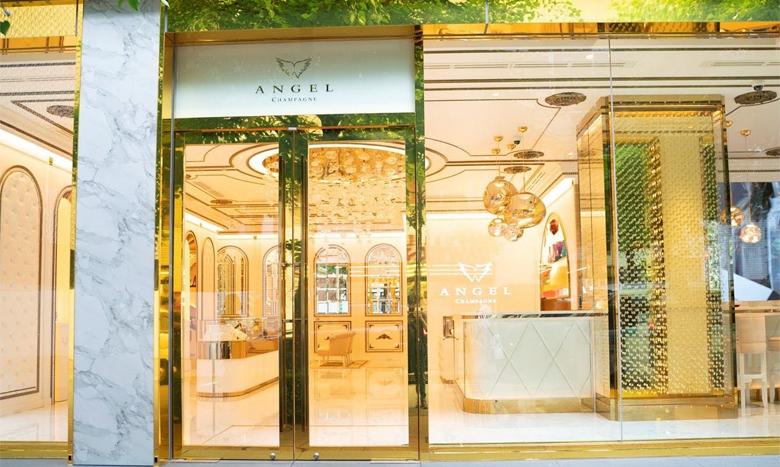 世界でも珍しいシャンパンブランドの旗艦店「ANGEL CHAMPAGNE銀座店」がオープン イメージ画像